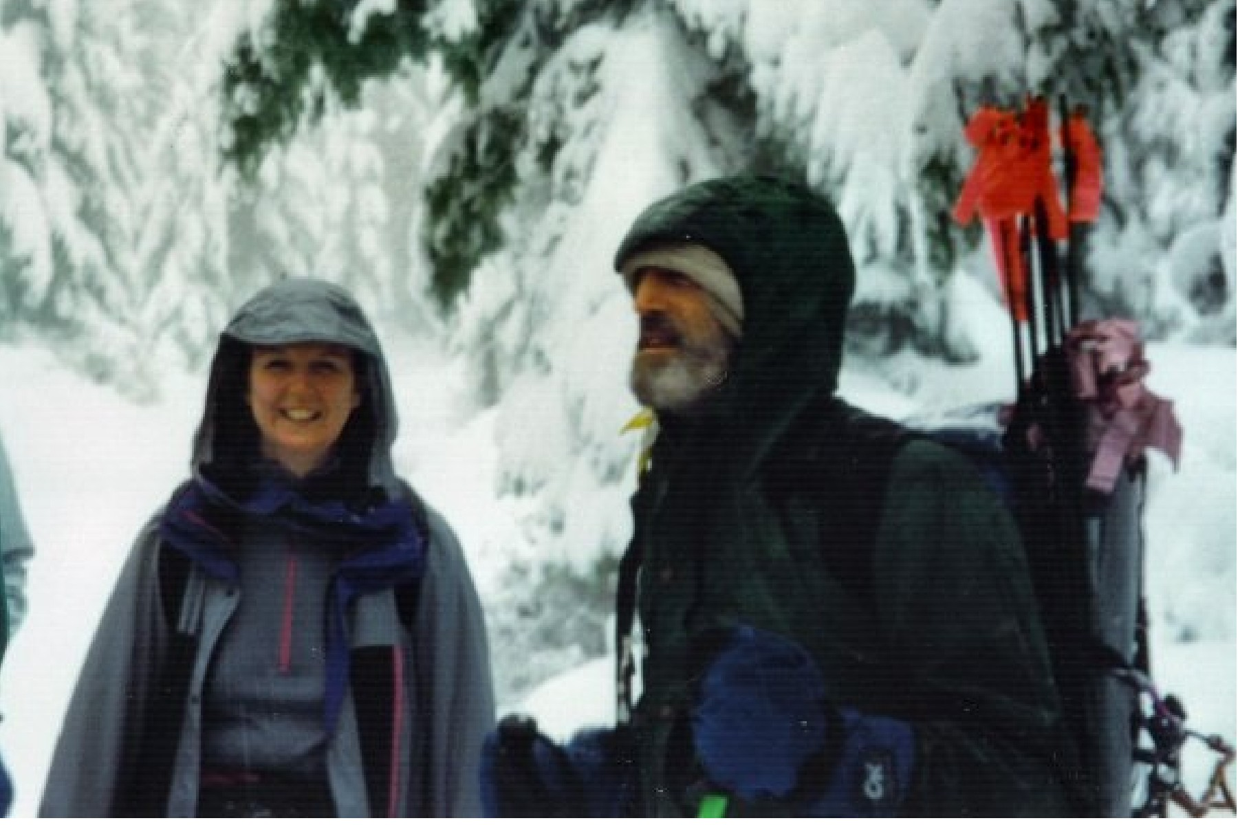Karen and Jim Mt St Helens 1993