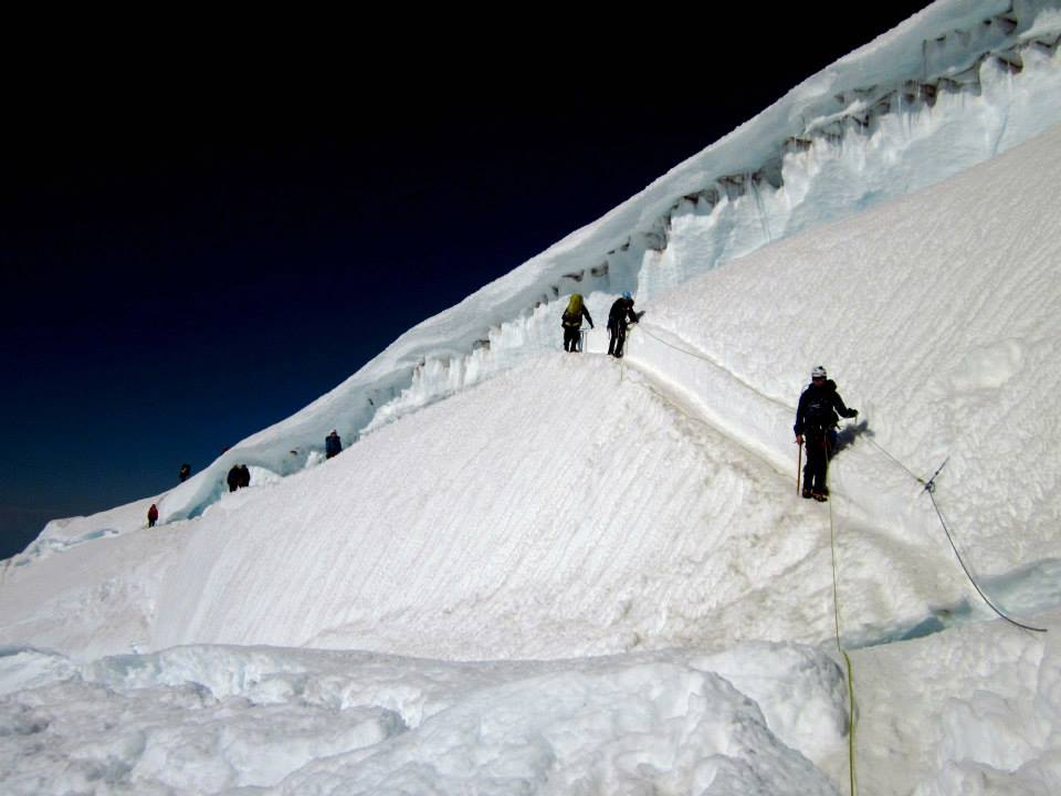 OSAT One Step at A Time - Glacier Climbing Course